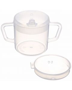Independence Two-Handled Cup with 2 lids