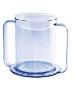 Clear 2-Handle  12 oz. Mug