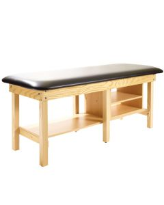 Metron Value Bariatric Treatment Table with Shelves