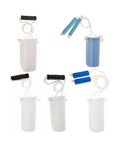 Sock and Stocking Aids with Built-Up Foam Handles