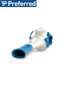 The Breather 1.1 Respiratory Muscle Trainer - mouthpiece view