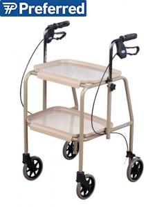 Homecraft Deluxe Walker Trolley Beige