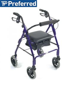 Days Lightweight Rollator - Aluminum