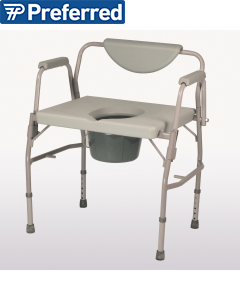 Homecraft Deluxe Bariatric Drop Arm Commode