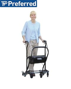U-Step II Wheeled Walker with Reversed Braking System