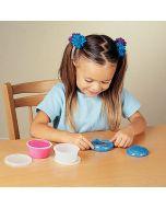 Sammons Preston Glitter Putty used by child