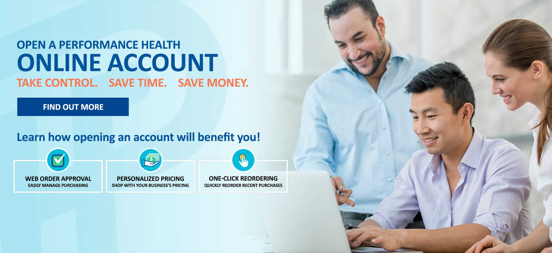 Performance Health Online Account Benefits